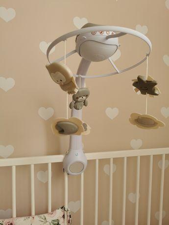 Karuzela infantino z projektorem dla dzieci