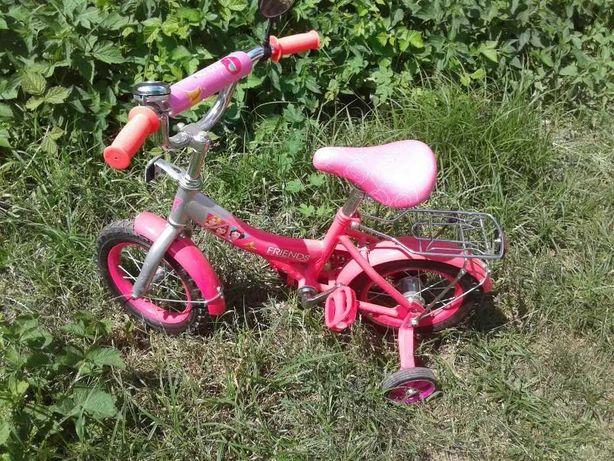 Велосипед детский для девочки розовый