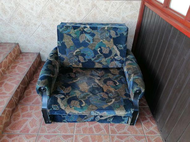 Fotel łóżko rozkładane
