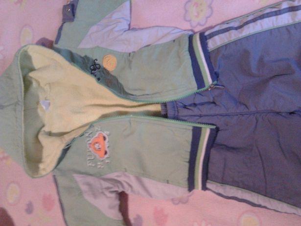 Теплый костюм, куртка и штаны, для мальчика