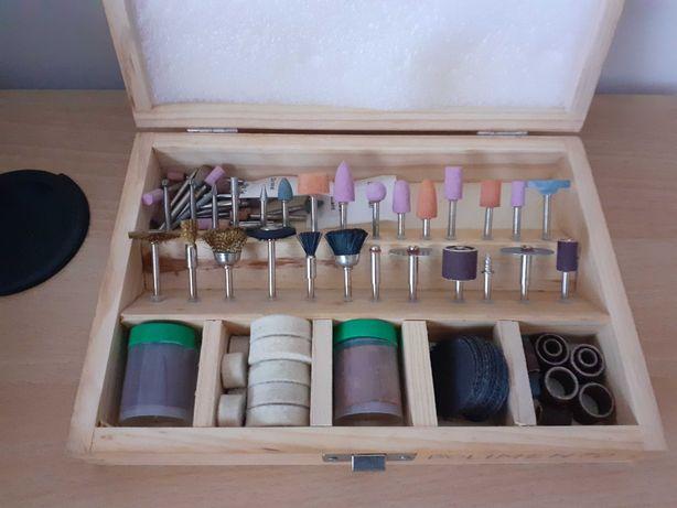 Kit de polimento para mini broca em mala