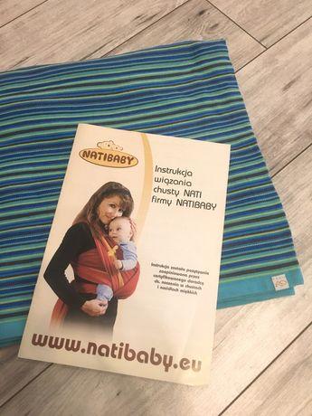 Chusta tkana do noszenie dzieci firmy NATIBABY
