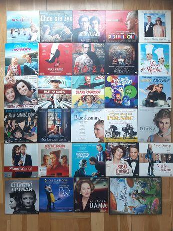 Filmy DVD, 29 szt, polskie i zagraniczne