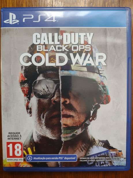 Call of Duty Black Ops Cold War Ps4/Ps5 Aceito Retomas