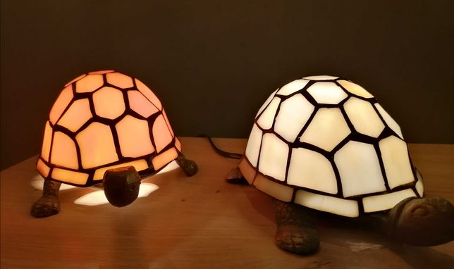 Lampa witrażowa Tiffany, Art Deko