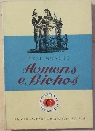 homens e bichos, axel munthe, livros do brasil