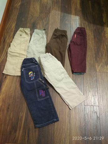 Spodnie 98/104 sześć par