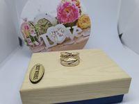 **Nowy złoty pierścionek 2.17g p.585-Lombard Stówka**