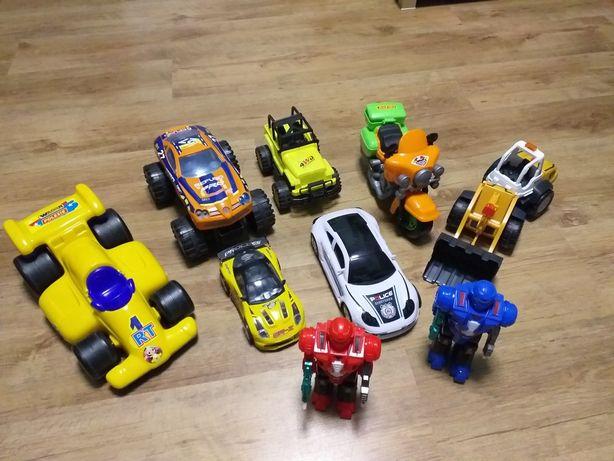 Auta samochody roboty