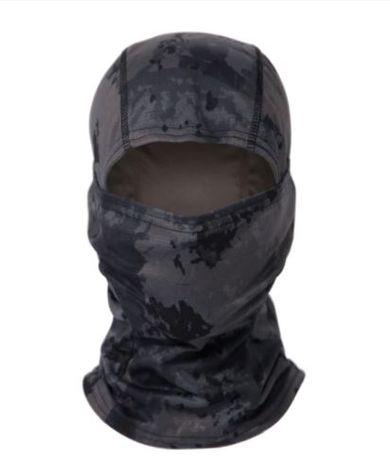 Mascaras faciais camufladas
