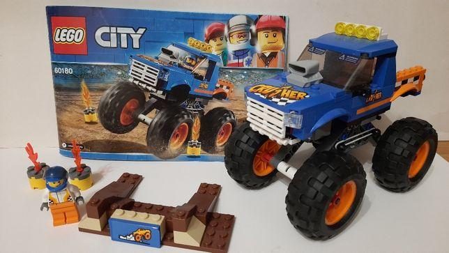 Lego City 60180 Грузовик монстр Лего Сити