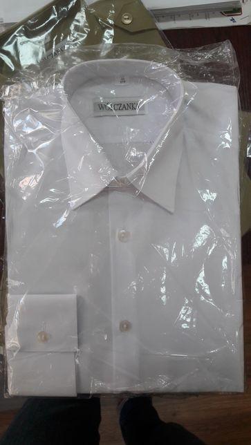 Nowa Koszula wyjściowa biała