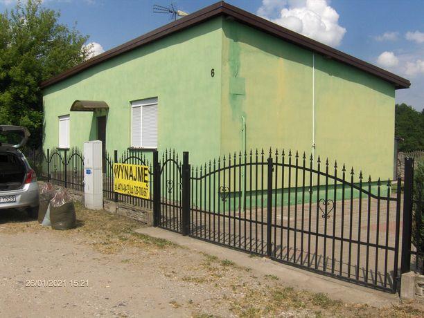 Dom do wynajęcia z działka i garażem