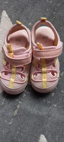 Sportowe sandalki H&M rozmiar 23 jak nowe
