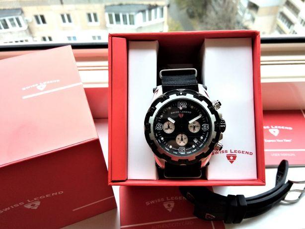 Швейцарские часы Swiss Legend Daredevil Chronograph 100m