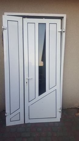 Вхідні металопластикові алюмінієві двері
