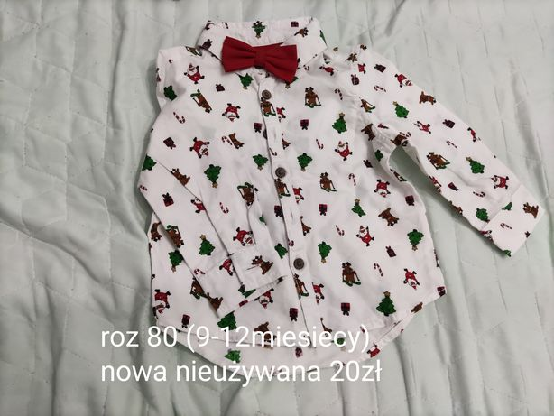 Koszula świąteczna 80