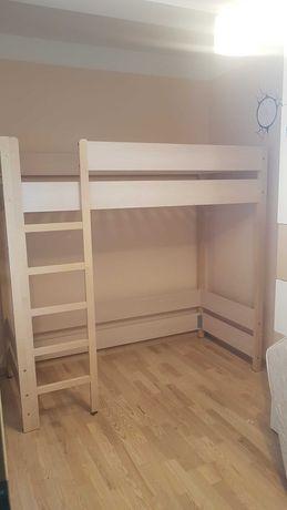 antresola łóżko piętrowe