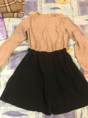 Продам комбез- шорты,  летний шелк , 36 размер