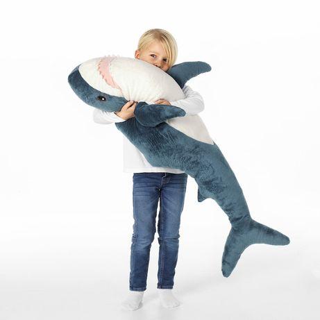 Іграшка м'яка акула 100 см игрушка мягкая