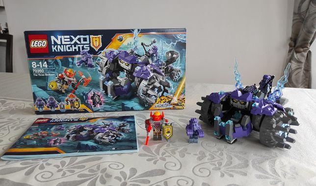 """LEGO 70350 Nexo Knights - """"Pojazd trzech braci"""", Komplet"""