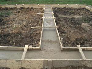 Фундамент, забор, бетонные работы