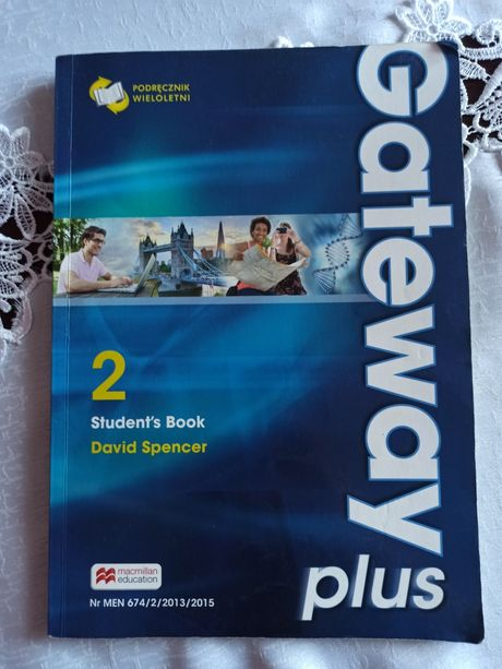 Gateway plus 2 podręcznik książka angielski liceum technikum