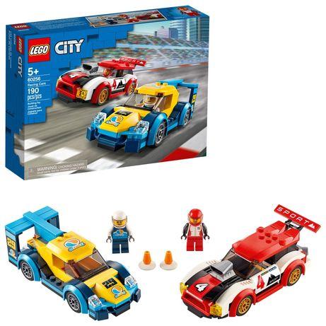 Конструктор Lego City Гоночные автомобили 60256 Лего Сити 190 деталей