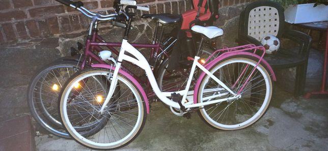 Rower miejski koła 28 damski prawie nie używany