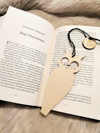 Zakładka przekładka do książki książek Harry Potter insygnia śmierci