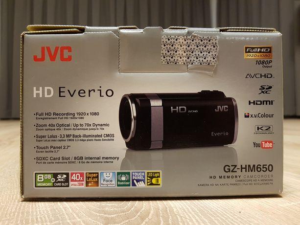 Kamera cyfrowa JVC GZ-HM650 full HD czarny