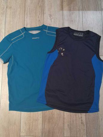 Zestaw dwóch koszulek sportowych M wysyłka olx