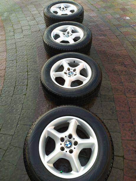 Титани з шинами до BMW X3-X5