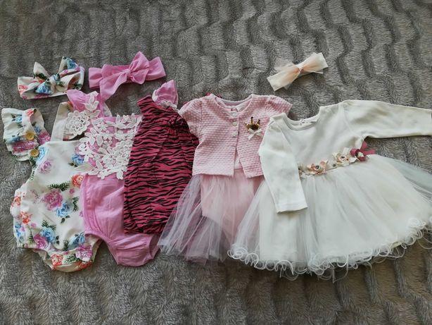 Одежда для девочки от 6 до 9 месяцев