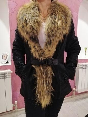 Продам куртку-дубленку из натуральной кожи пони