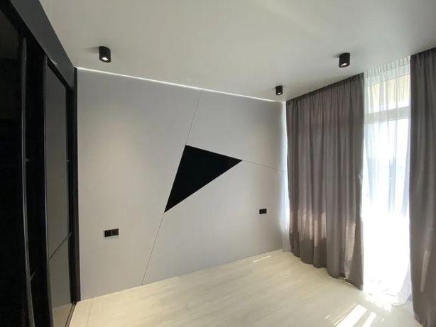 Терраса! Двухкомнатная квартира с дизайнерским ремонтом !t