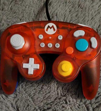 Kontroler do Nintedo Switch Hori. Mario przewodowy gamecube