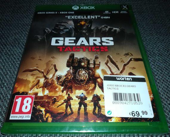 Gears Tactics Xbox Box Series X/ Xbox One (Novo/Selado)