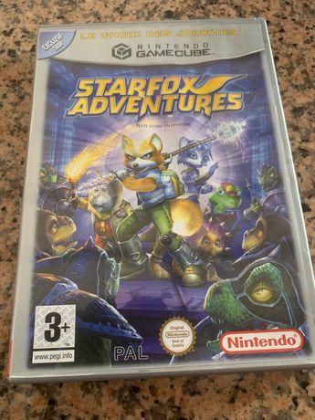Starfox adventures game cube