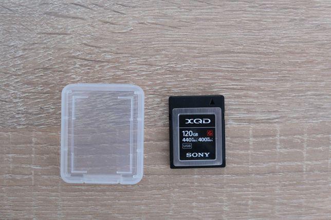 Карта памяти Sony 120 GB XQD G Series