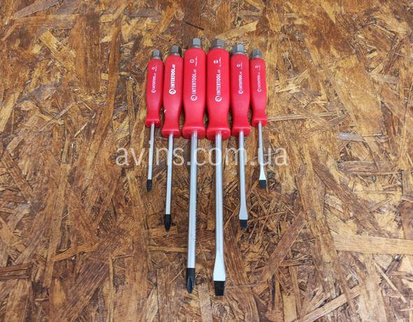 Набор ударных отверток 6 шт. INTERTOOL HT-0403 набір ударних викруток
