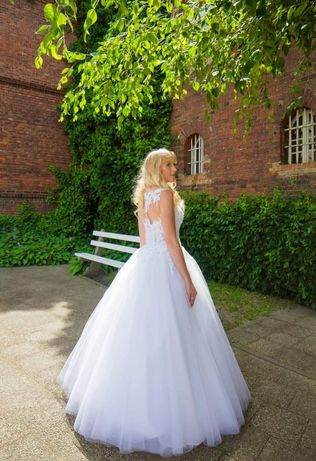 Okazja do końca miesiąca Piękna suknia ślubna