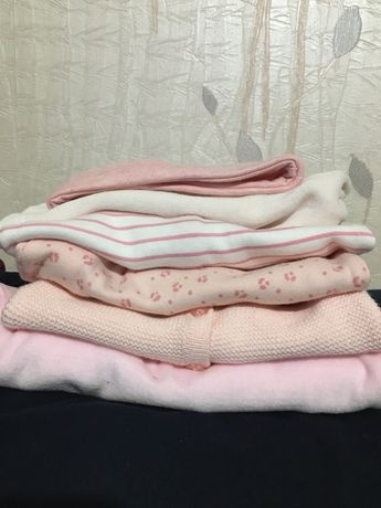Набор одежды на новоржденного, 0+, человечек, кофта, шапка