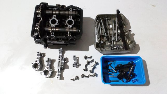 Kawasaki EL 250 252 eliminator GŁOWICA silnik wałki rozrządu kompletna
