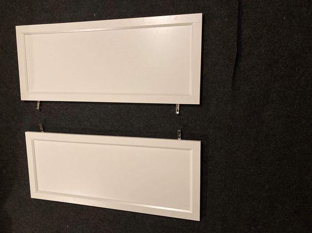 Drzwi billy oxberg 40x97 2 szt z zawiasami