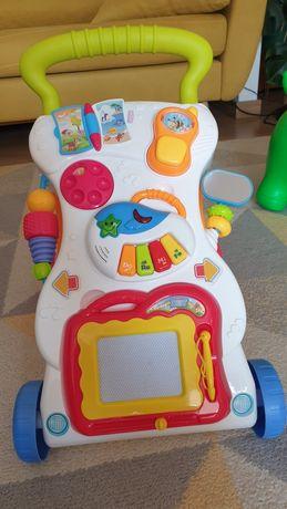 Pchacz jeździk chodzik interaktywne zabawki baby mix
