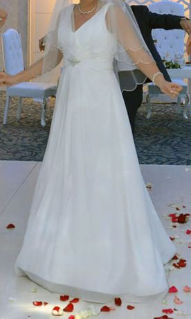 Бесподобное свадебное платье из Французской коллекции