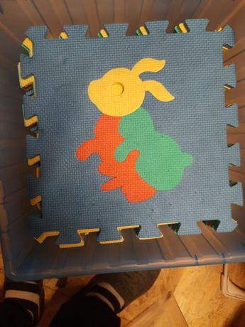 Puzle piankowe na podłogę dla dziecka