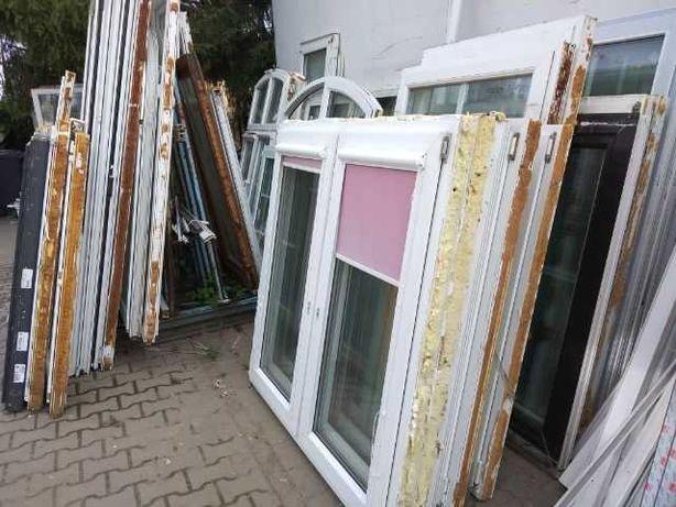Okna pcv drzwi  witryny używane szeroki wybór Mega skład i też wysyłki