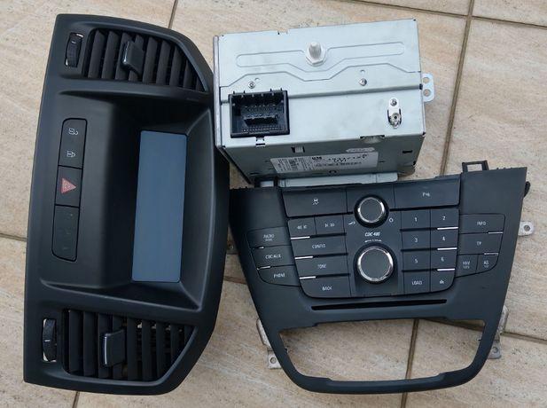 Radio Opel Insignia CD400 CD300 kod naprawa zalogowanie
